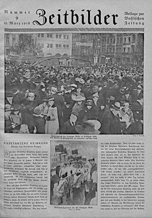 Zeitbilder vom 10.03.1918