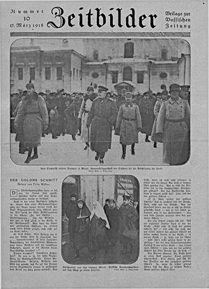 Zeitbilder vom 17.03.1918