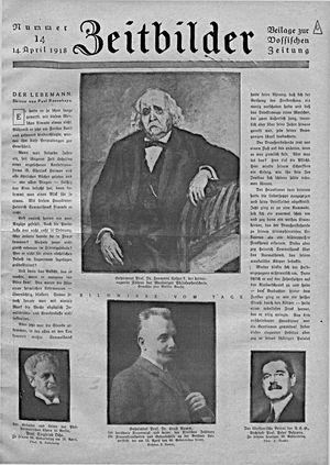 Zeitbilder vom 14.04.1918