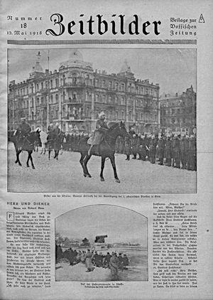 Zeitbilder vom 12.05.1918