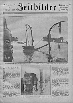 Zeitbilder vom 19.05.1918