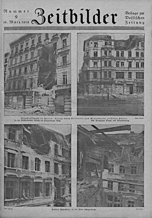 Zeitbilder vom 16.03.1919
