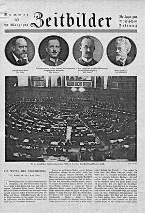 Zeitbilder vom 23.03.1919