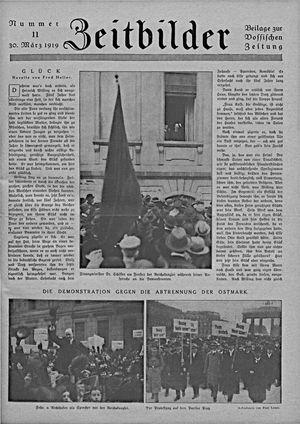 Zeitbilder vom 30.03.1919