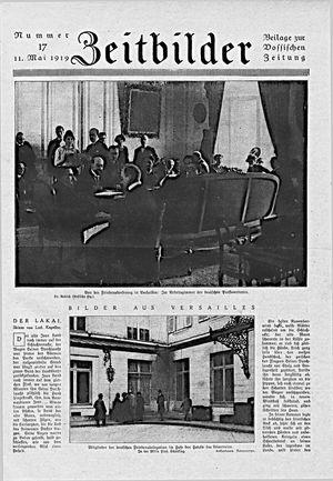 Zeitbilder vom 12.05.1919