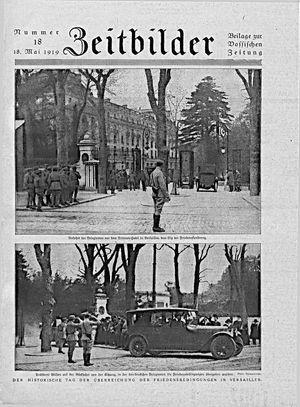 Zeitbilder vom 18.05.1919