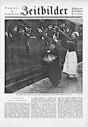 Zeitbilder vom 18.01.1920