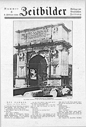 Zeitbilder vom 08.02.1920
