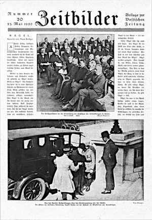 Zeitbilder vom 23.05.1920