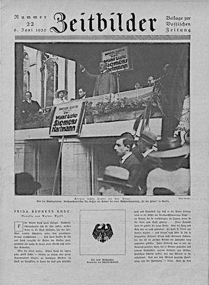 Zeitbilder vom 06.06.1920