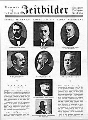 Zeitbilder vom 13.06.1920