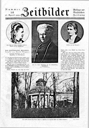 Zeitbilder vom 17.04.1921