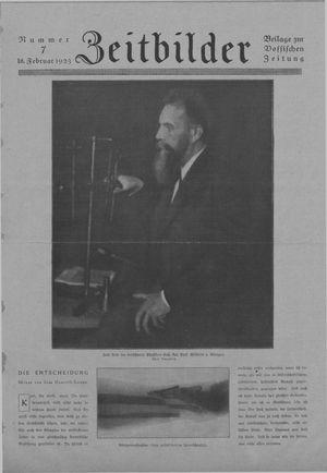 Zeitbilder vom 18.02.1923