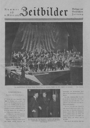 Zeitbilder vom 11.03.1923