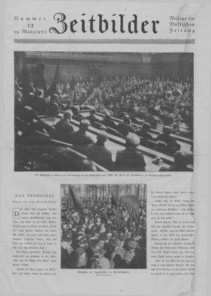 Zeitbilder vom 25.03.1923