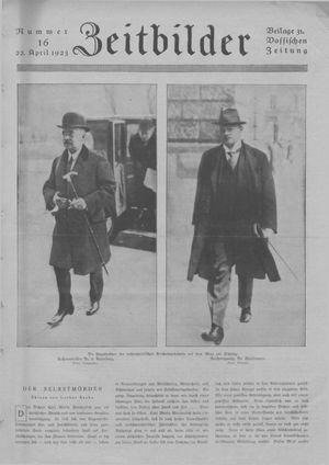 Zeitbilder vom 22.04.1923