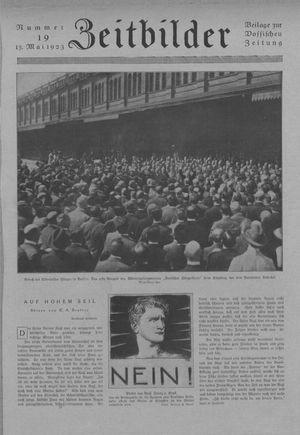 Zeitbilder vom 13.05.1923
