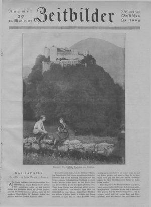 Zeitbilder vom 20.05.1923