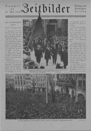 Zeitbilder vom 27.05.1923