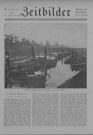 Zeitbilder on Jun 10, 1923