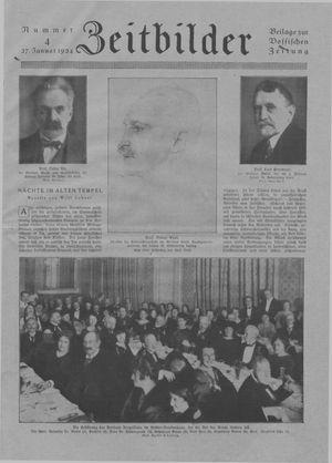 Zeitbilder vom 27.01.1924