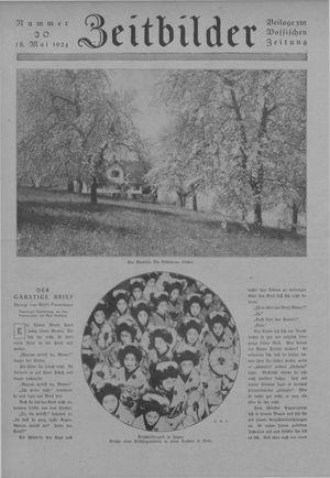 Zeitbilder vom 18.05.1924