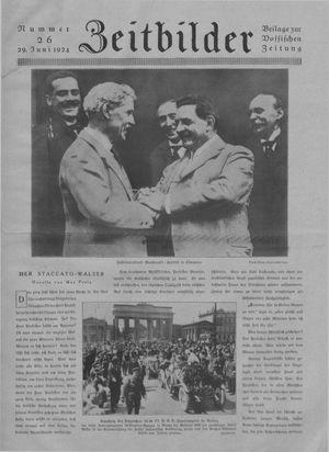 Zeitbilder vom 29.06.1924