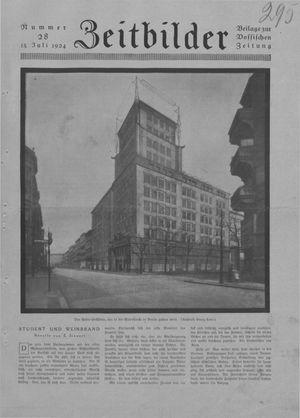 Zeitbilder vom 13.07.1924