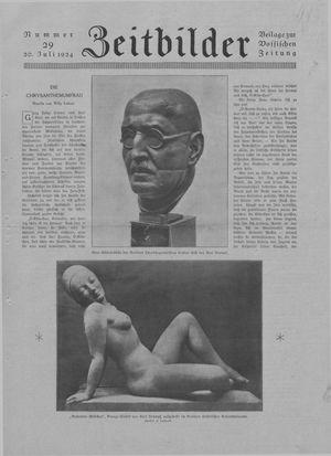 Zeitbilder vom 20.07.1924