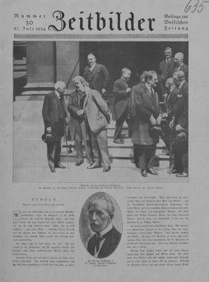 Zeitbilder vom 27.07.1924