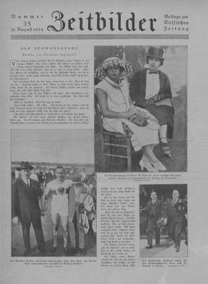 Zeitbilder vom 31.08.1924