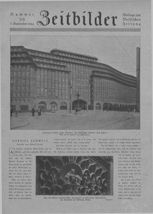 Zeitbilder vom 07.09.1924