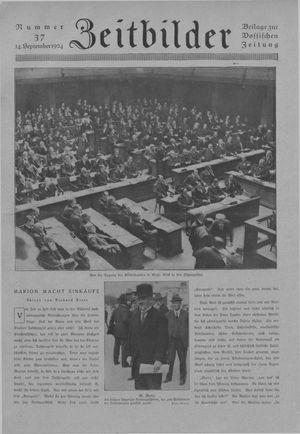 Zeitbilder vom 14.09.1924