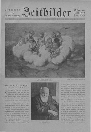 Zeitbilder vom 28.09.1924