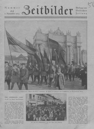Zeitbilder vom 02.11.1924