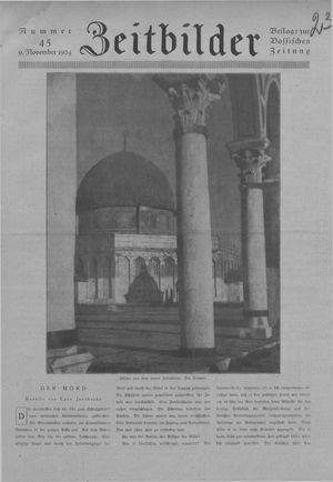 Zeitbilder vom 09.11.1924