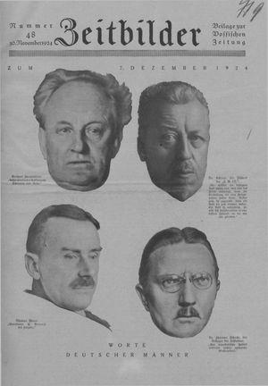 Zeitbilder vom 30.11.1924