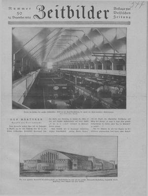Zeitbilder vom 14.12.1924