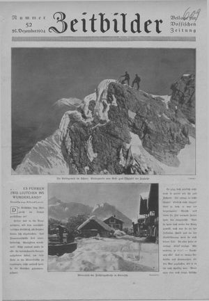 Zeitbilder vom 28.12.1924