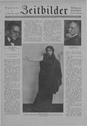 Zeitbilder vom 04.01.1925