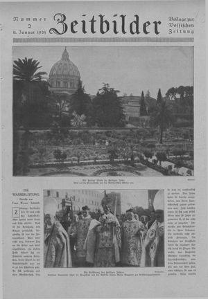 Zeitbilder vom 11.01.1925