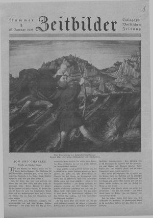 Zeitbilder vom 18.01.1925