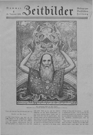 Zeitbilder vom 25.01.1925