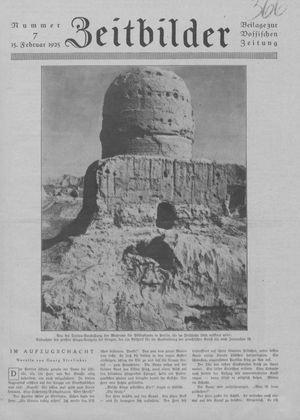 Zeitbilder vom 15.02.1925