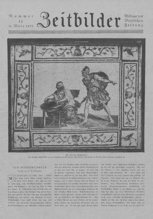 Zeitbilder vom 15.03.1925