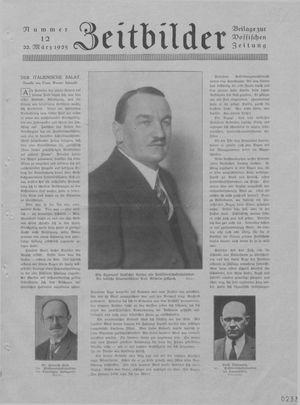 Zeitbilder vom 22.03.1925