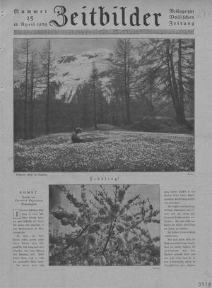 Zeitbilder vom 12.04.1925