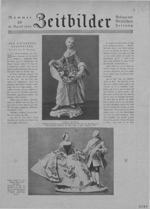 Zeitbilder vom 19.04.1925