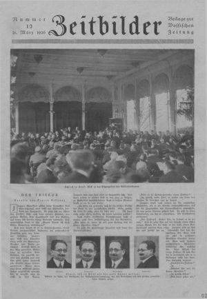 Zeitbilder vom 21.03.1926
