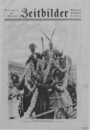 Zeitbilder vom 02.03.1927